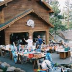 garage sale at house