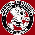 Summer's End Festival, Hornet Hustle 5K Fun Run/Walk, Rossville, Indiana